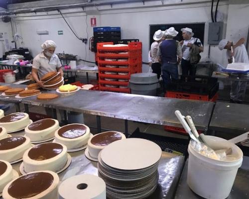 Bezoek aan bakkerij in Guatemala