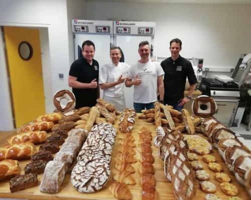 Met bakkers Rinze Onis en Sander Dijkman in Nantes als Boulangier